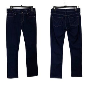 CITIZENS OF HUMANITY Elson Midrise Straight Leg Jeans Dark Wash